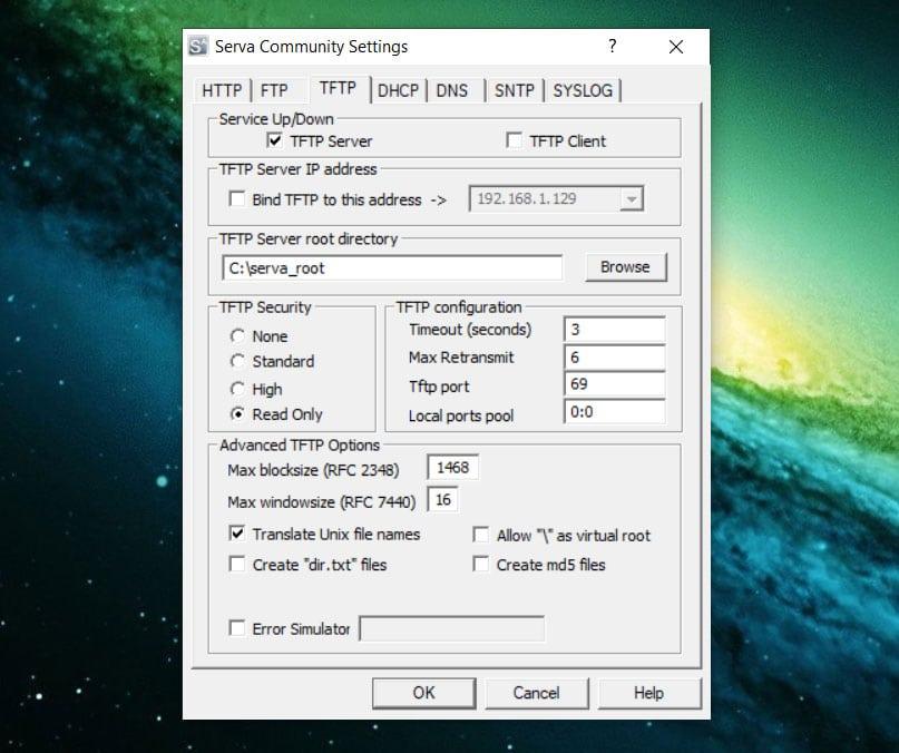 serva windows10 3