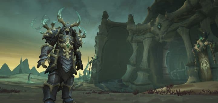 World of Warcraft Shadowlands screenshot