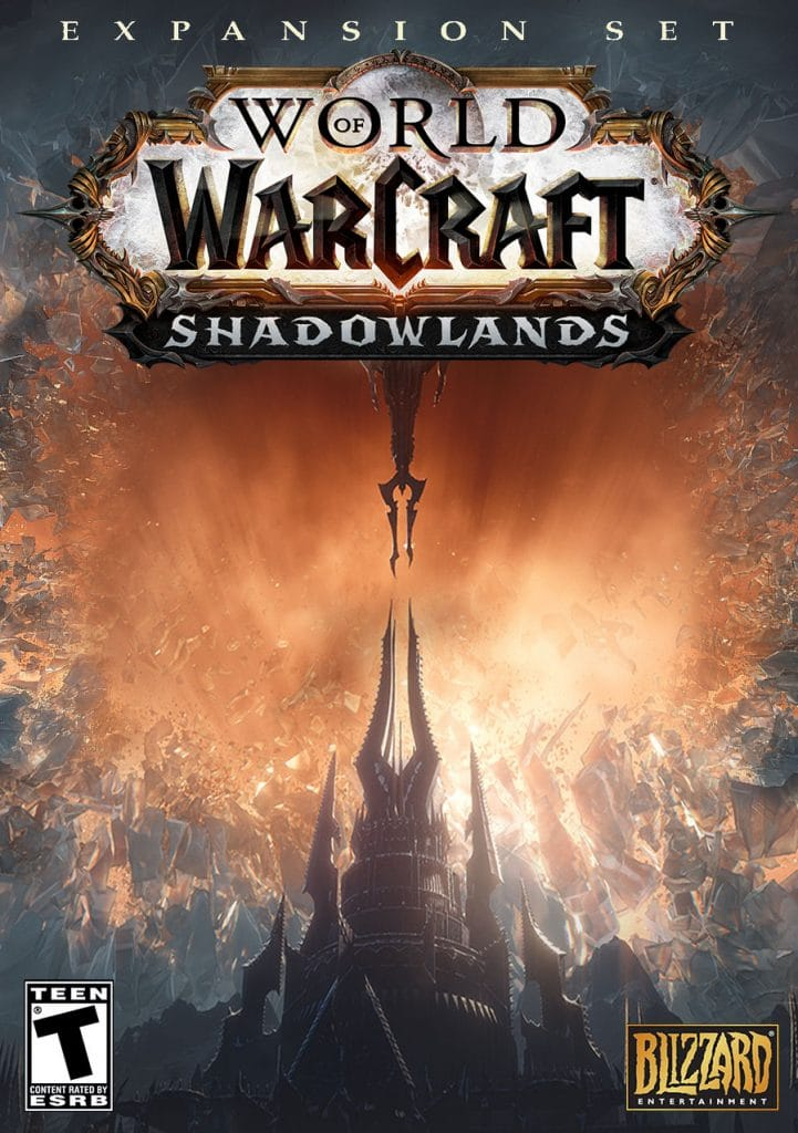 World of Warcraft Shadowlands Box Art