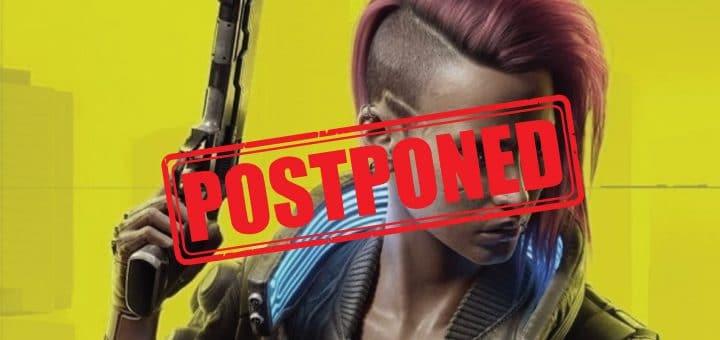 Cyberpunk 2077 release date postponed to december.