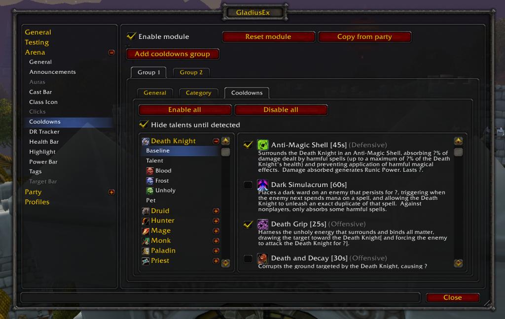 Gladius screenshot 2