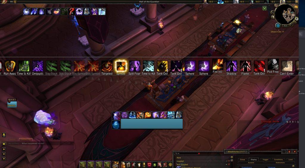 WeakAuras screenshot 1