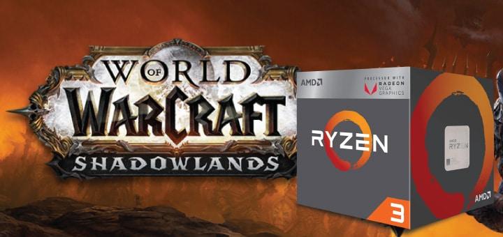 World of Warcraft Shadowlands - AMD Ryzen 3 2200G Vega 8-01